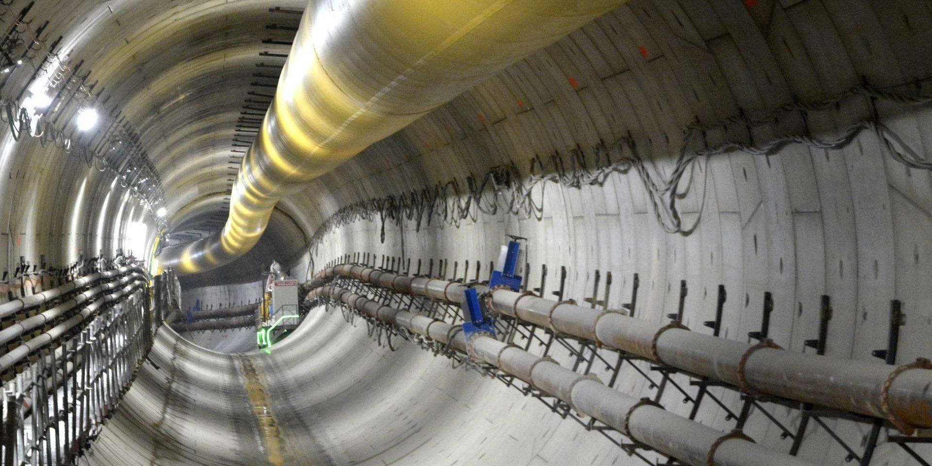 Nice - Tramway - Section souterraine de la ligne Est-Ouest