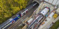 Meudon - Galerie de secours du tunnel SNCF