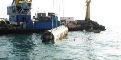 Rabat - Emissaire de rejet marin des eaux d'épuration