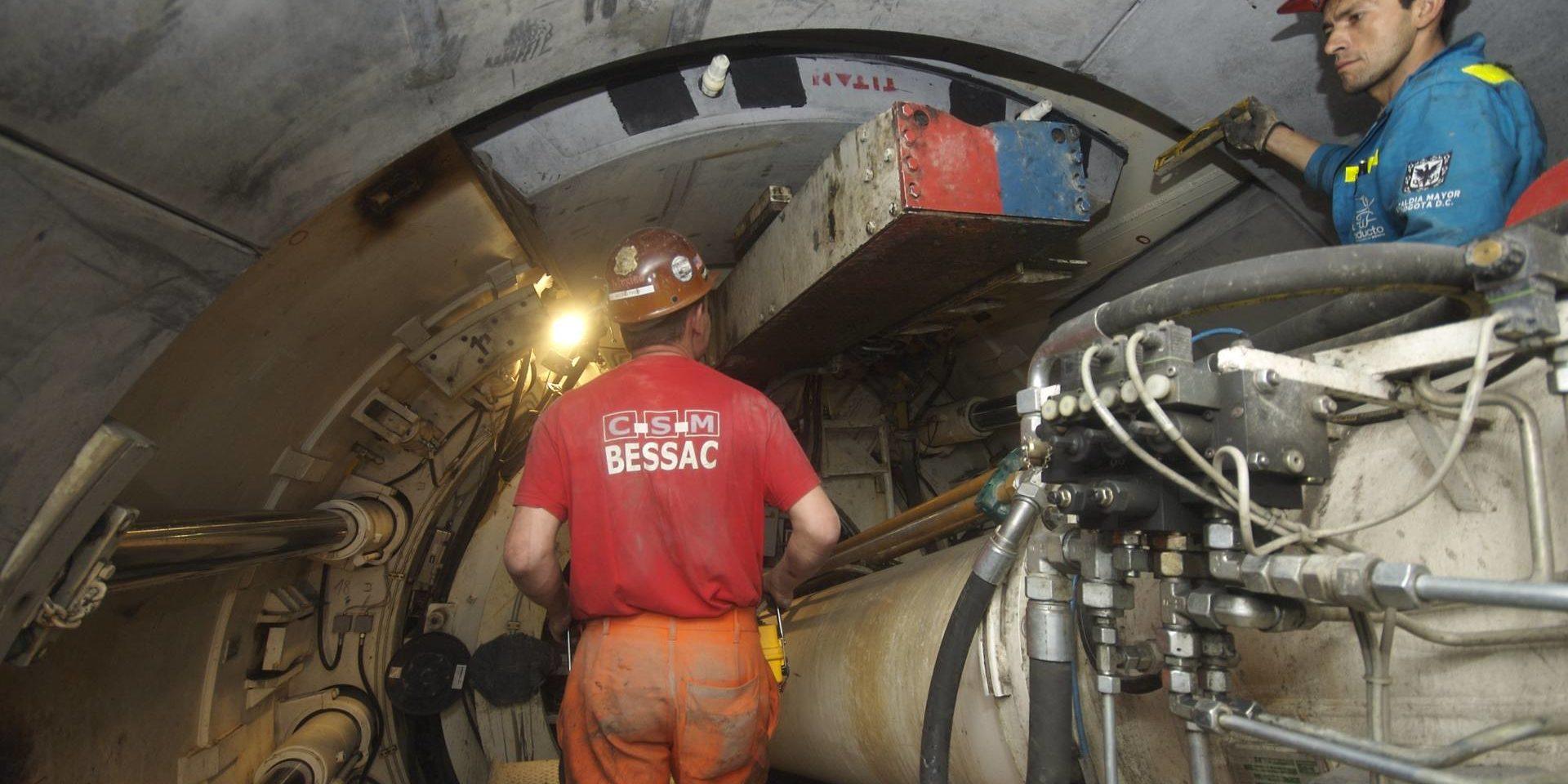 Bogota - Tunnel d'assainissement de l'IFT (Interceptor Fucha Tunjuelo)