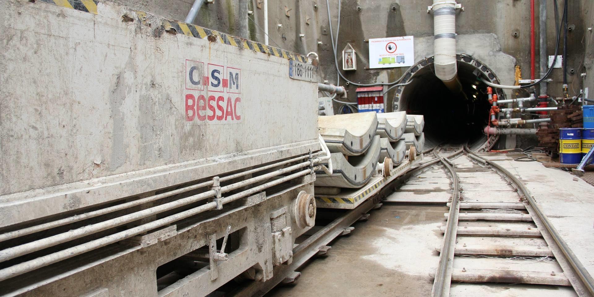 San José -Tunnel de transfert des eaux usées