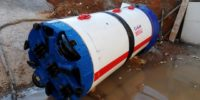 Frontignan - BRL - Forages de transfert d'eaux pluviales sous la voie SNCF