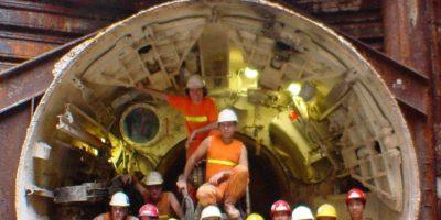 Sortie tunnelier